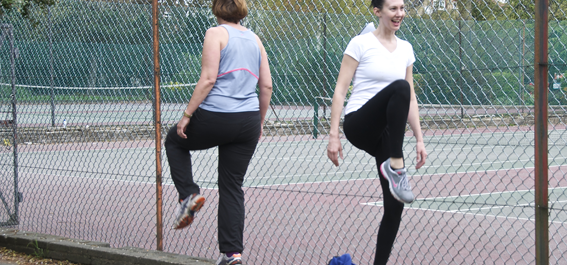 finchley fitness with a friend