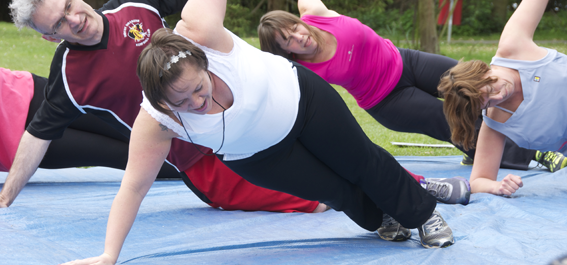 Fun outdoor fitness in Finchley