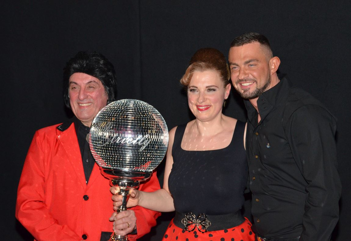 Last year's Dancing Strictly Winners